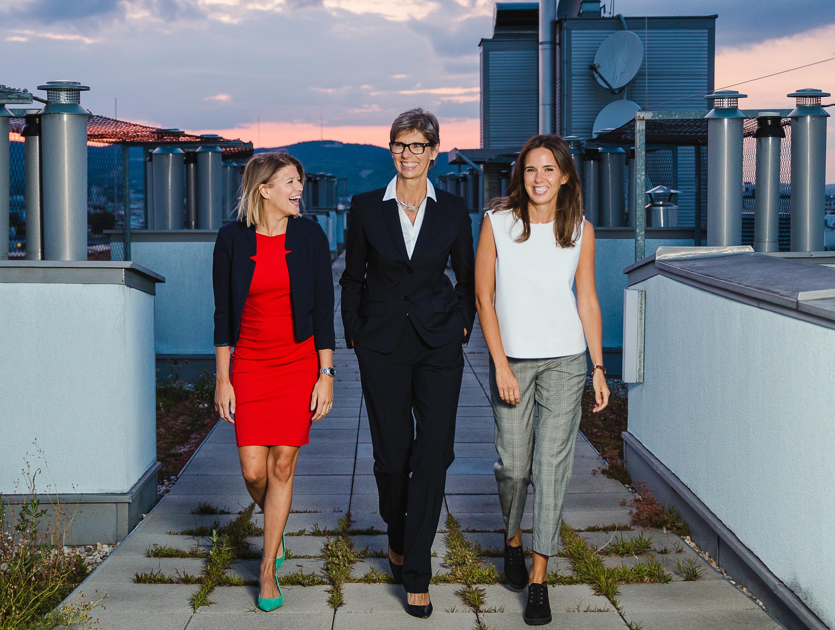 pikestorm Team - Hannah Sturm, Gabriele Hecht, Franziska Hecht